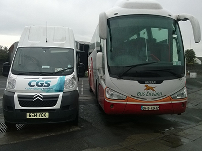 coach and bus windscreen fitting